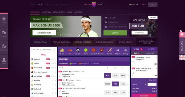 Malina Casino e Sports