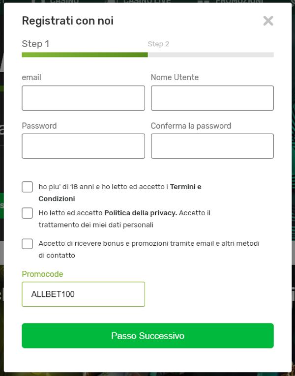 Campobet codice bonus - codice promo